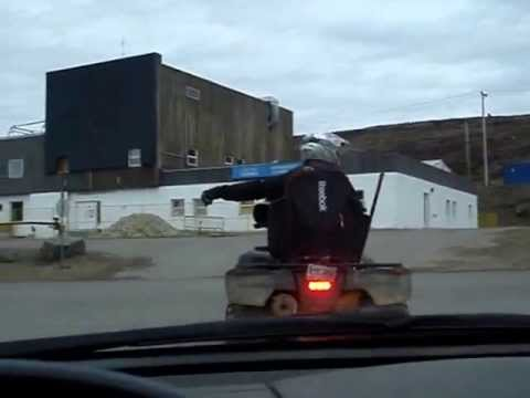 Driving around Iqaluit Nunavut with comments