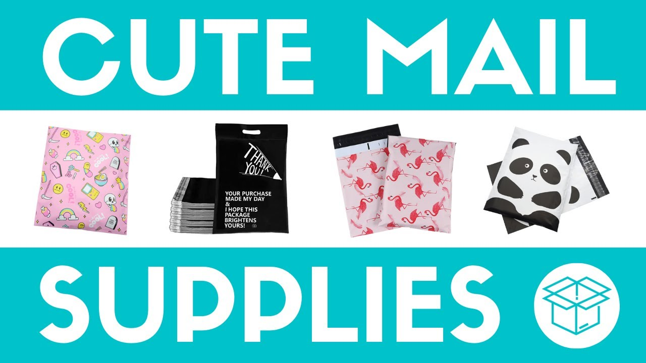 Cute Mailing Supplies For Your Online Shop | Where To Get Shipping Supplies For Etsy Shops