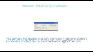 Autocom 2016 activator