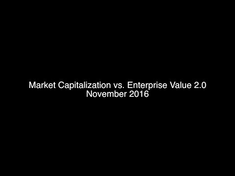 Market Capitalization vs Enterprise Value 2.0