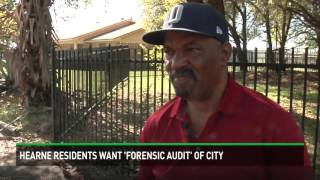 Hearne residents want the city