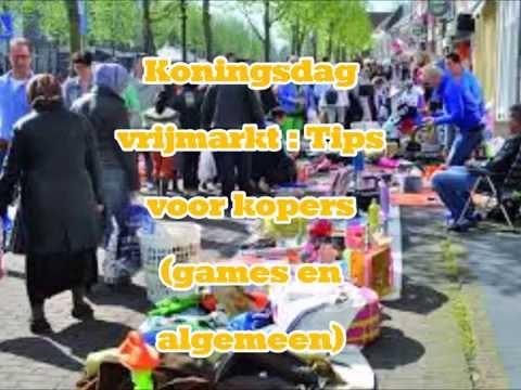 Vrijmarkt koningsdag  : Tips voor kopers ( games en algemeen)