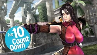 Top 10 Soul Calibur Characters
