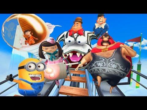 Despicable Me 2: Minion Rush Vector | Meena | Pollo Locos | Jack In The Box Boss