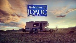 RVing Mud Season: Almost Stuck, Idaho Greenery, and Arctic Circle