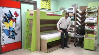 Стол-кровать трансформер под заказ в Сумах, Украина(Изготовление столов-кроватей по индивидуальному проекту. В одном положении это стол, в другом - кровать...., 2015-11-10T17:30:04.000Z)