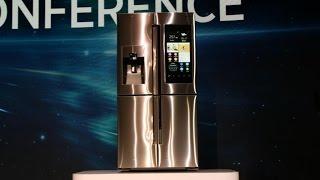 Хит бытовой техники: Умный холодильник Family Hub Samsung с навороченными функциями