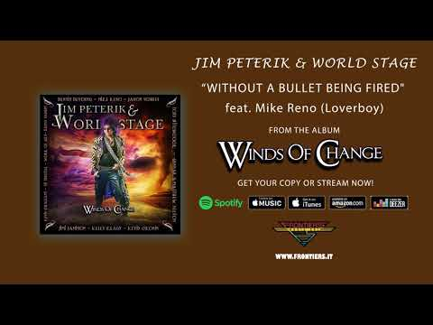 "Jim Peterik & World Stage - ""Without A Bullet Being Fired"" feat. Mike Reno (Official Audio)"