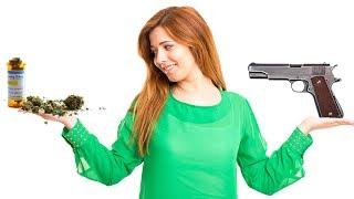 Pot Smokers Must Choose: Guns Or Pot?