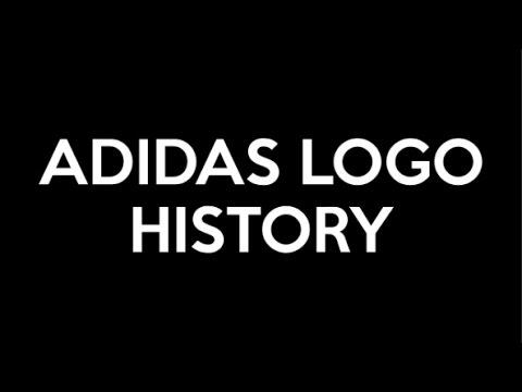 6a3aa1b9f1a1 Adidas Logo History - YouTube