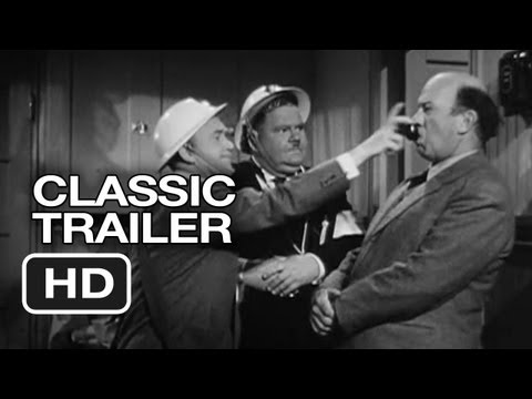 Air Raid Wardens Classic Trailer (1943) Laurel and Hardy Movie HD