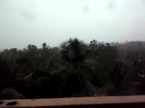 Typhoon Bopha - Koror, Palau