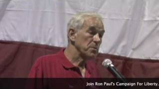 Ron Paul Birthday BBQ Speech 8-15-2009 Part 2