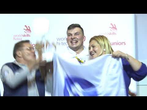 Церемония закрытия WorldSkills Hi-TEch 2017