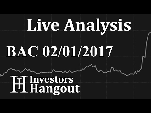 BAC Stock Live Analysis 02-01-2017