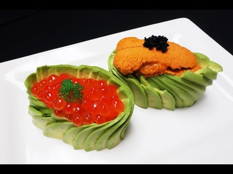 Exquisitely Prepared Uni and Ikura Sushi With A Twist - How To Make Sushi Series