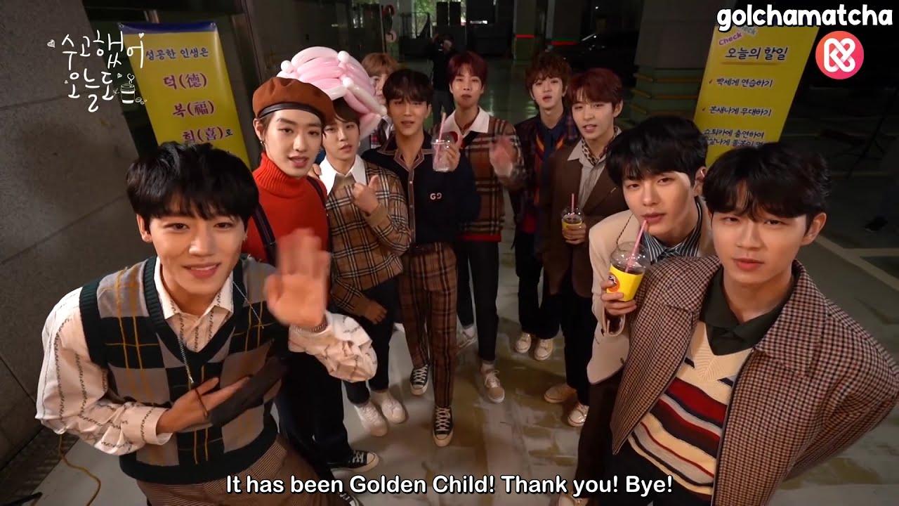 [ENG SUB] 201015 골든차일드와 함께하는 쇼챔피언 퇴근길♥ Show Champion Leaving Work Cafe with Golden Child♥