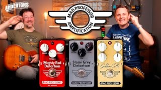 Mad Professor Drive Pedal Shootout!!