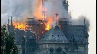 Incendio consumió la Catedral de Notre Dame en París, Francia