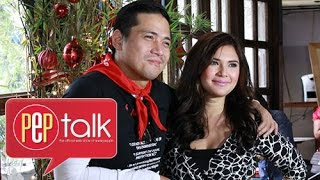 PEP Talk. Robin and Vina talk about their past as a couple: