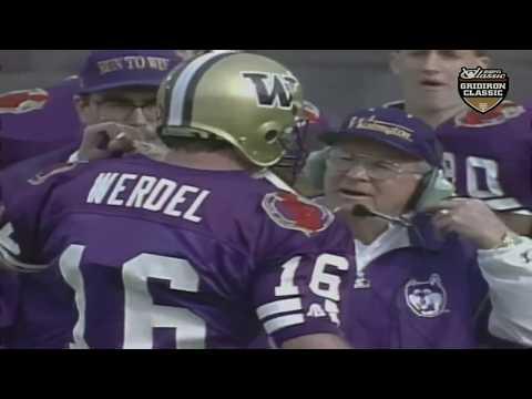 1992 Rose Bowl - #7 Michigan vs. #9 Washington (HD)