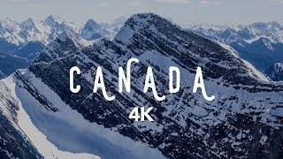 Canada In 4K | Alberta & British Columbia | DJI Mavic Pro Cinematic Footage