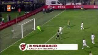 50. Türkiye Kupası Fenerbahçe'nin - Fenerbahçe 4 - Bursaspor 0 HD 1080p + kupa tören