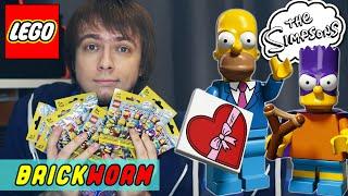 LEGO Simpsons. Минифигурки 2 серии (часть 1) - Brickworm(, 2015-05-06T12:39:48.000Z)