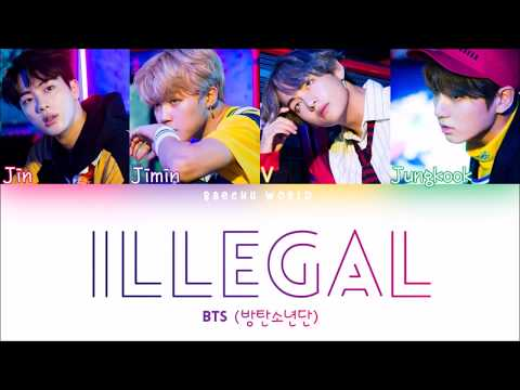 BTS (방탄소년단) - Illegal/Dimple (보조개) (Color Coded) (Han/Rom/Eng)