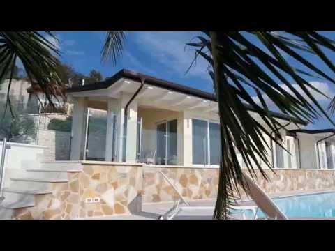 Villa di lusso lago di garda youtube for Ville unifamiliari moderne