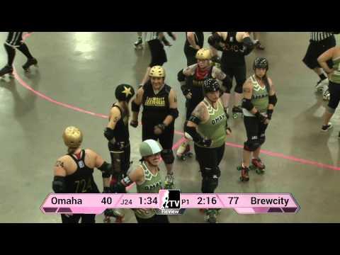 WFTDA Roller Derby: 2014 Division 2 Playoffs, Duluth: Omaha vs. Brewcity