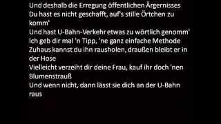 Eko Fresh ft Joko&Klaas-U Bahn F*CKER