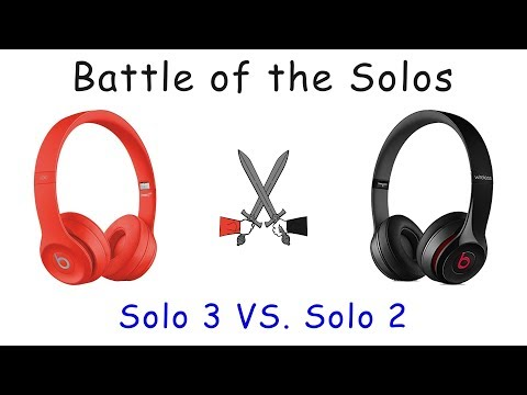 Beats Solo 2 vs SOLO3 Wireless Blindfold Test