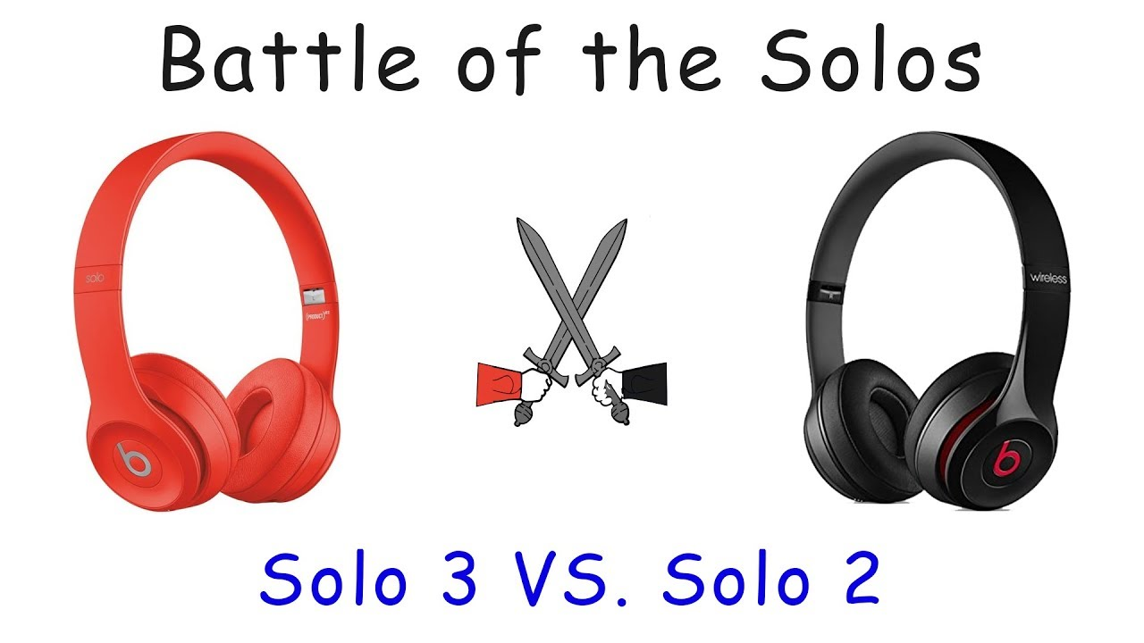 a2306f7a741 Beats By Dre Solo 2 vs Solo 3 Wireless Blindfold Test - YouTube