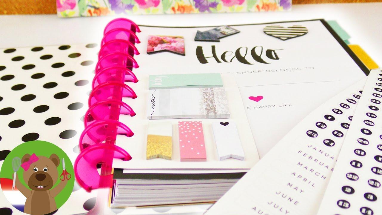 Favoriete Doe het zelf ideeen! Een jaarkalender uitpakken en zelf maken &HZ51
