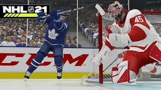 NHL 21: HOW TO MICHIGAN, SVECHNIKOV, LACROSSE GOAL