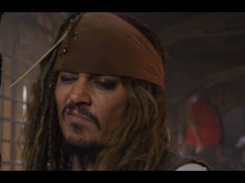 Johnny Depp As Captain Jack Sparrow Funny Moments, Scenes, Clips And Bloopers