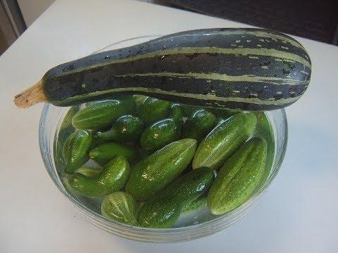 Салат из огурцов и кабачков на зиму. Маринкины творинки