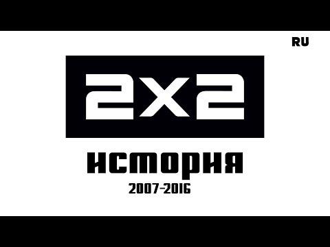 История телеканала 2x2 2007-2016