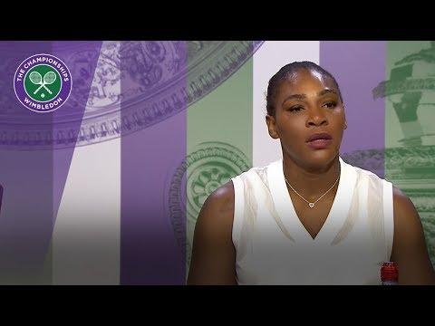 Serena Williams 'still in the moment' | Wimbledon 2018