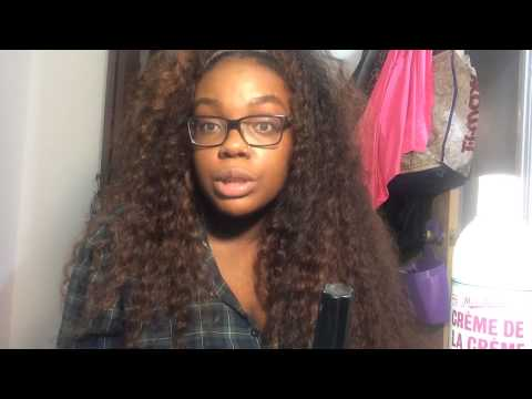 S Deep Wave Curly Hair Routine And Products
