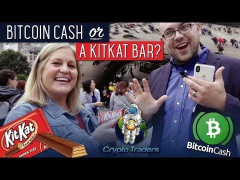 Bitcoin Cash Or A Kit-Kat Bar? (Social Experiment)