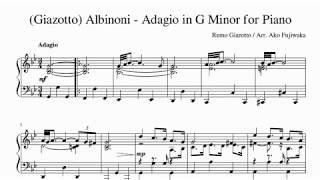 ジャゾット作曲「アルビノーニのアダージョ」