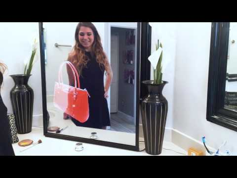Interactive Mirror Display for your iPhone iPad Android Device Portrait