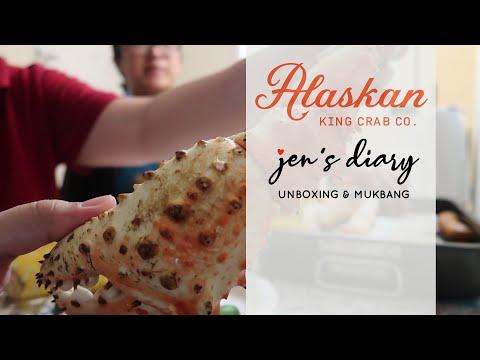 Alaskan King Crab Legs Unboxing and Mukbang