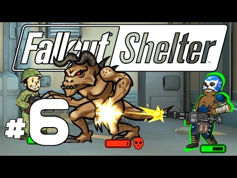 Fallout Shelter PC - Ep. 6 - Alpha Deathclaw Attack! - Lets Play Fallout Shelter PC Gameplay