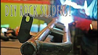 GARAGE SESSIONS: - DIY ROCK SLIDERS!