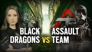 [BR] BLACK DRAGONS vs. ASSAULT TEAM | Play Day #7 | EliteSix S03 (PC)