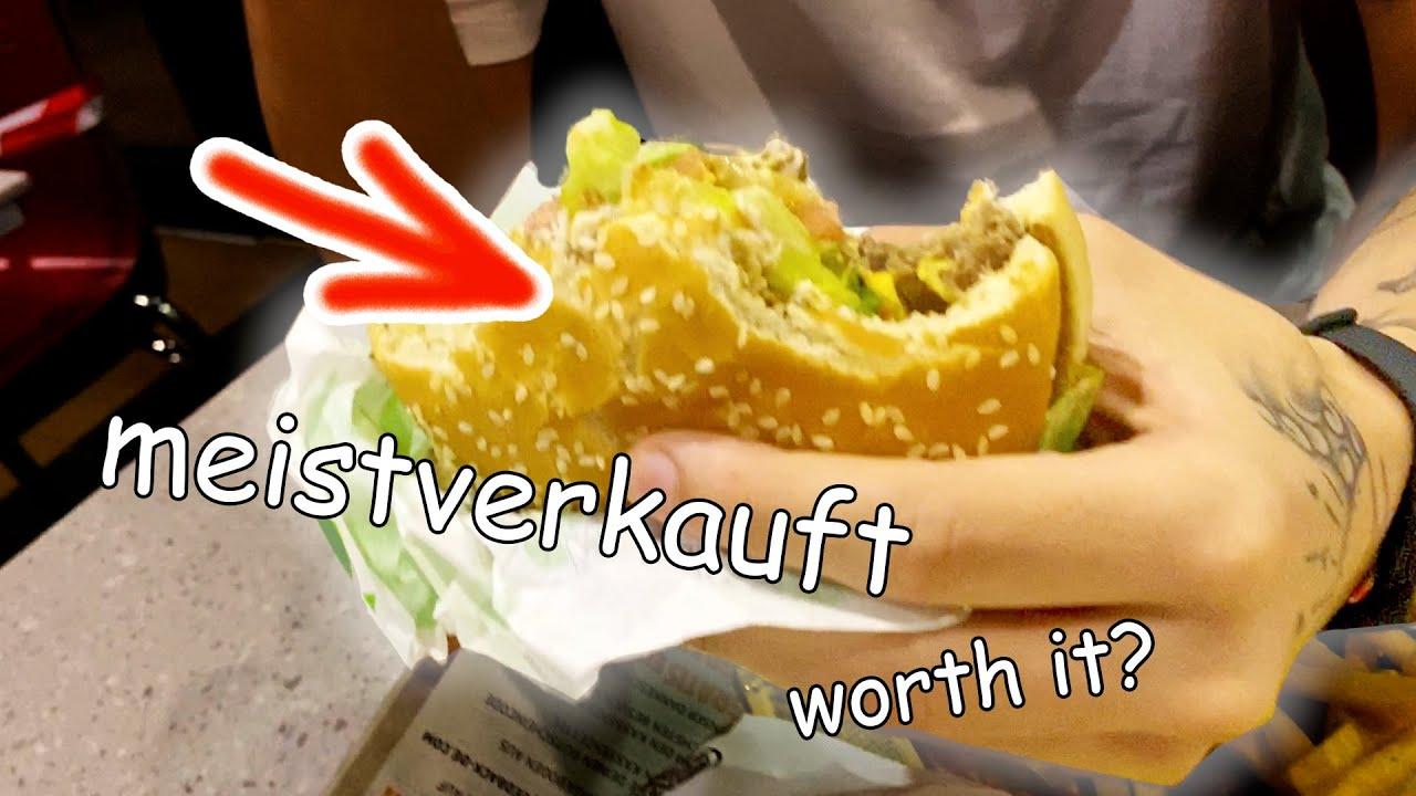 wir testen den MEISTVERKAUFTEN Burger!!