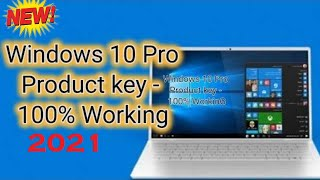 Windows 10 Pro Product key - 100% Working